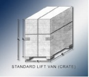 Standard Liftvan Crate